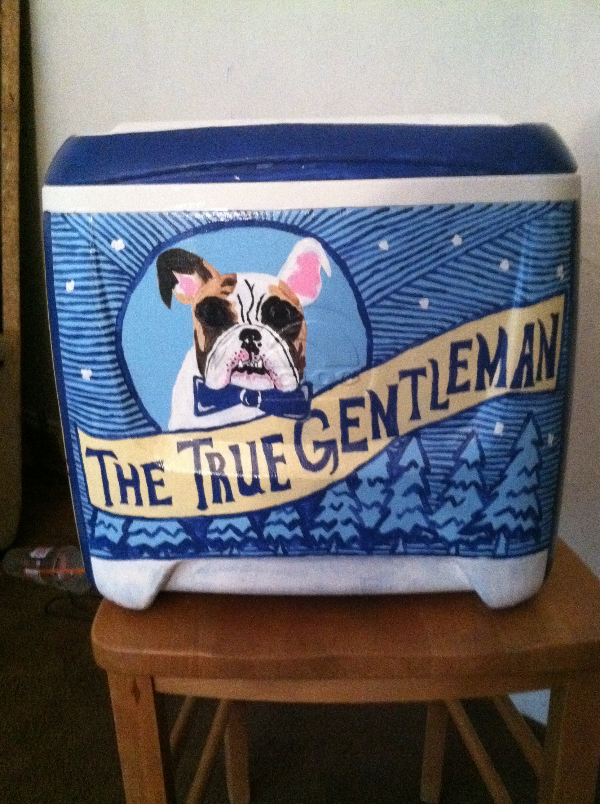 The Ultimate Cooler : The ultimate decorated frat cooler skinny collegegirl